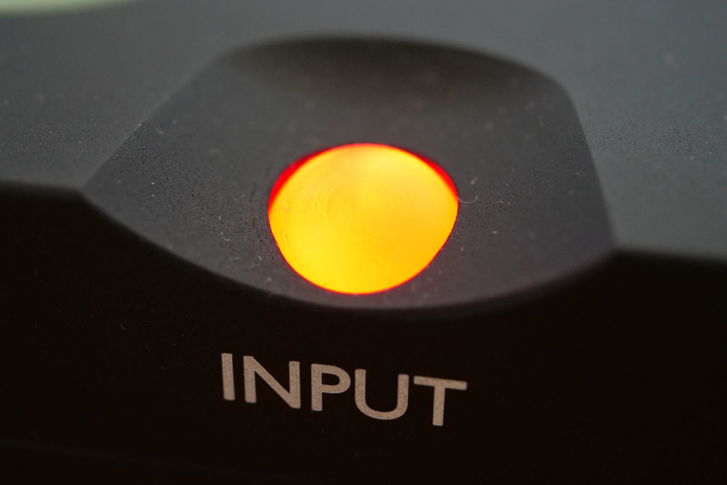 chord qutest gros plan bouton