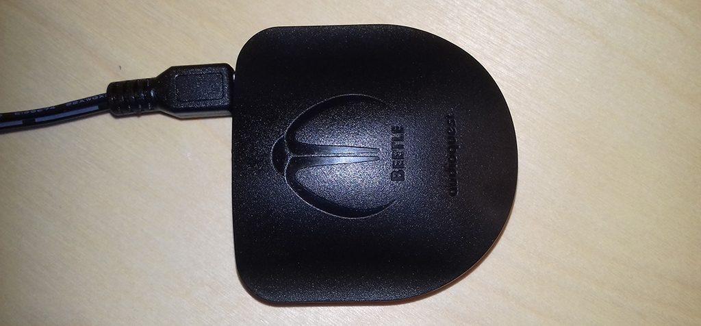 Test du DAC Beetle : appareil alimenté en USB