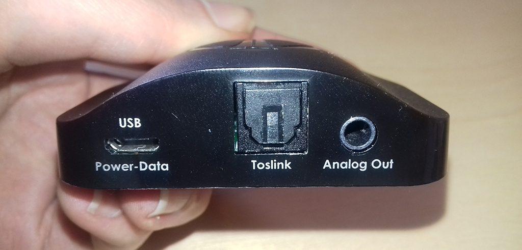 Le DAC Beetle d'AudioQuest dispose de trois entrées numériques : USB, optique et Bluetooth aptX.