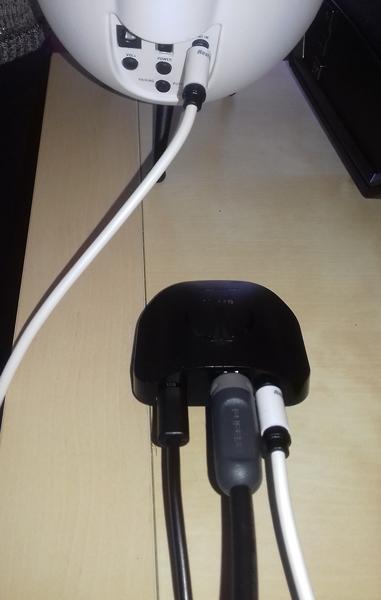 Test du DAC Beetle : détail des connectiques pour une installation sur la télévision