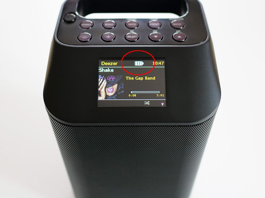 Sangean Revery R4 test batterie