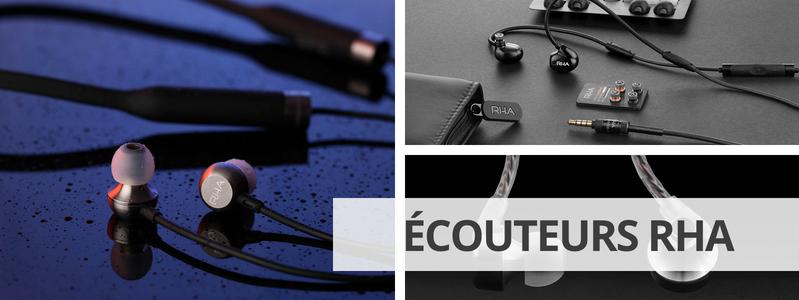Découvrir la marque d'écouteurs haute fidélité RHA sur La boutique d'Eric