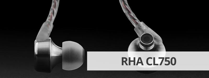 Découvrir la fiche détaillée des écouteurs pour ampli casque RHA CL750 sur La boutique d'Eric