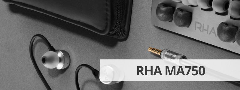 Découvrir la fiche détaillée des écouteurs filaires RHA MA750 sur La boutique d'Eric