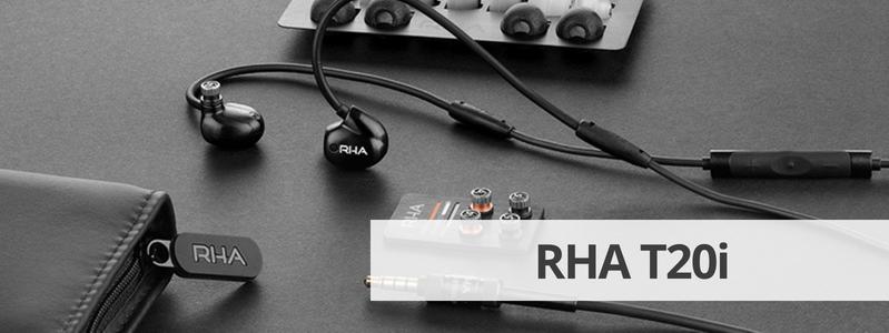 Découvrir la fiche détaillée des écouteurs filaire avec filtres personnalisables RHA T20i sur La boutique d'Eric