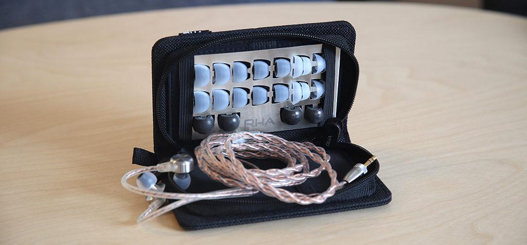 Les écouteurs filaires pour amplificateur RHA CL750