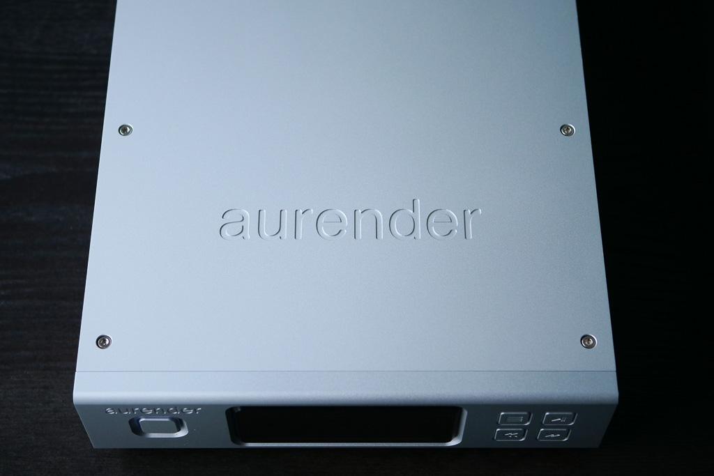 aurender N100 details capot