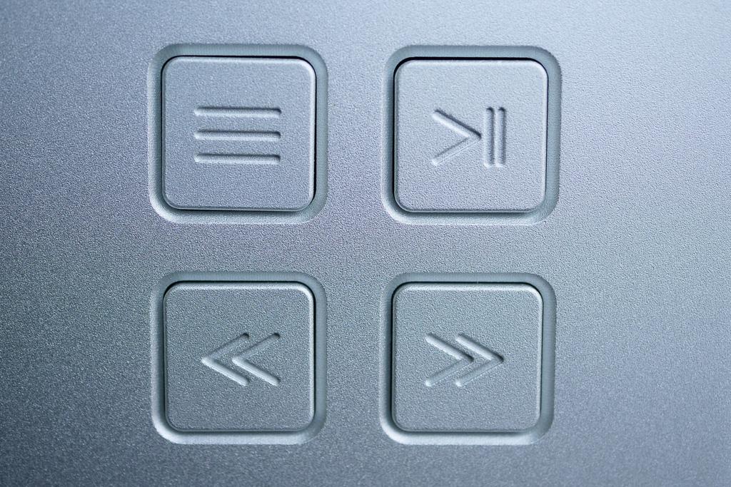 aurender N100 details touches fonctions