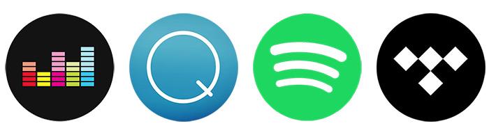 Comparer les services de musique en ligne : Deezer, Qobuz, Spotify et Tidal et choisir son équipement audio