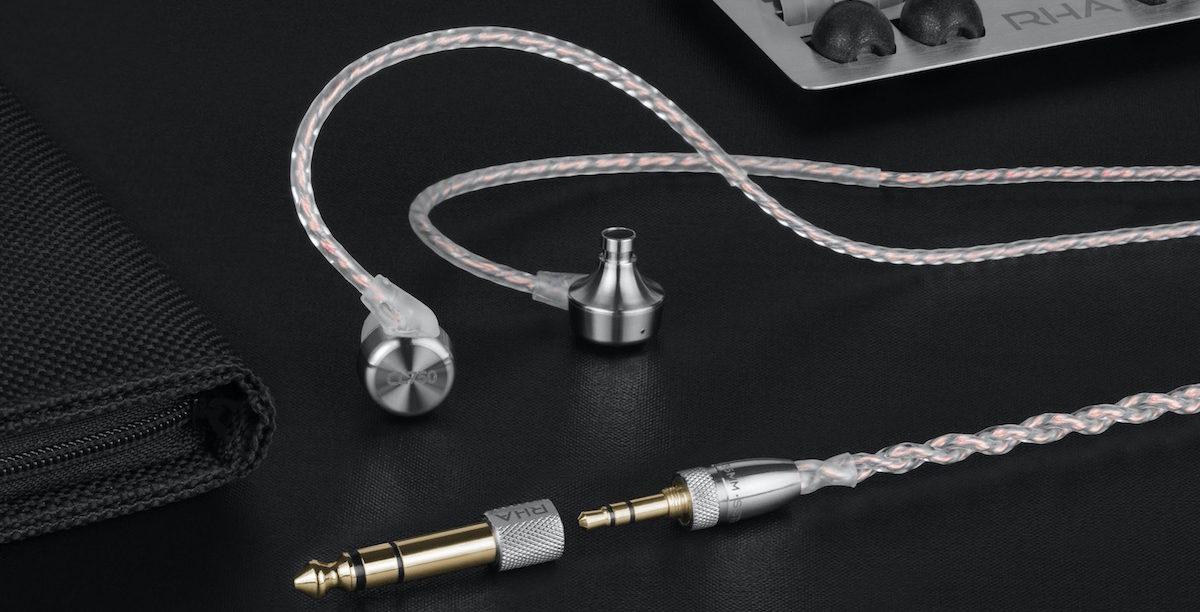 Écouteurs RHA CL750 : intra-auriculaires Haute Fidélité pour ampli casque