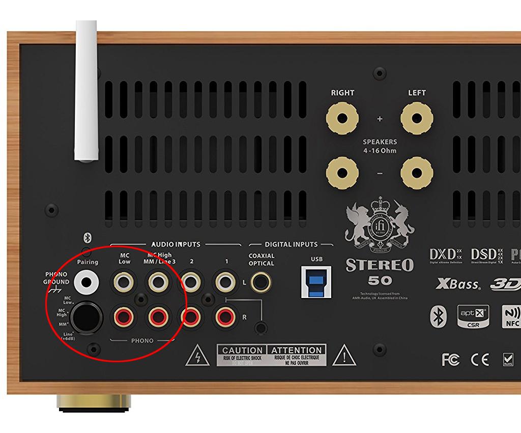 ifi stereo 50