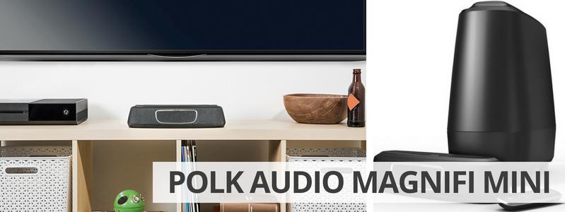 Découvrir le home-cinéma 2.1 Polk Audio MagniFi Mini sur La boutique d'Eric
