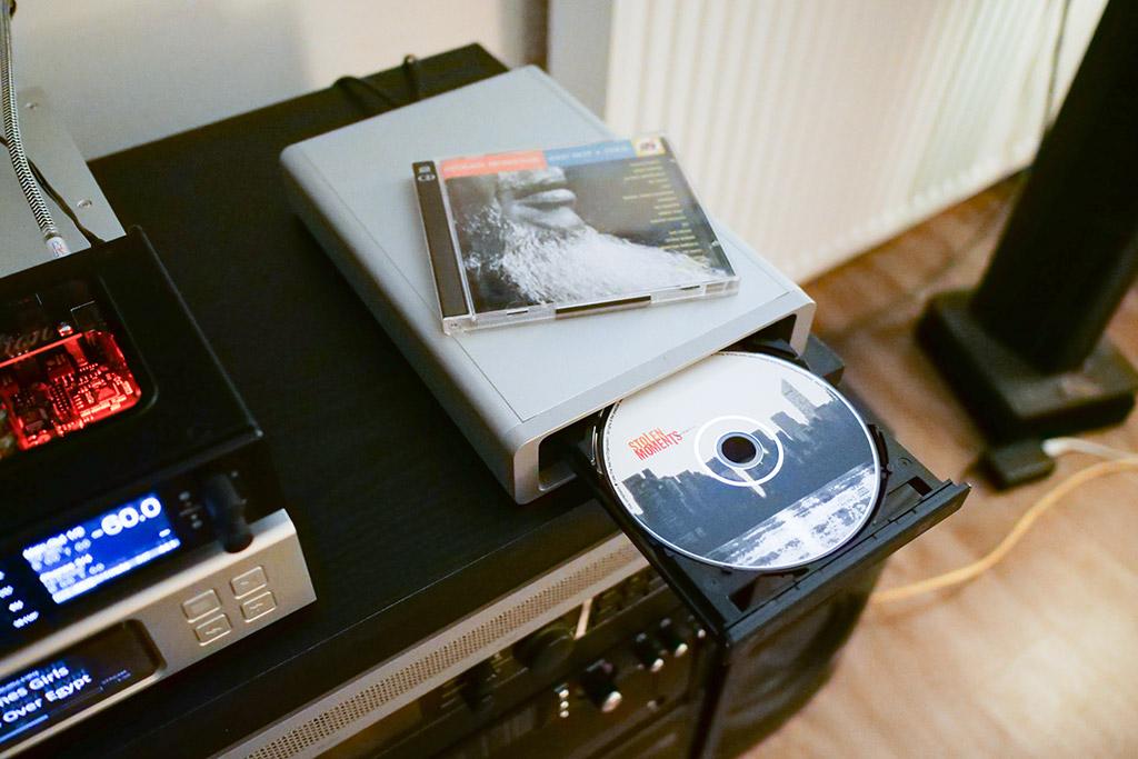 test aurender N100H copie cd