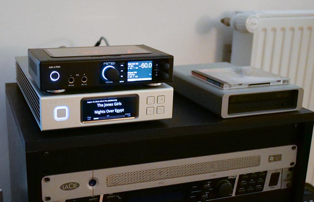 test aurender N100H system