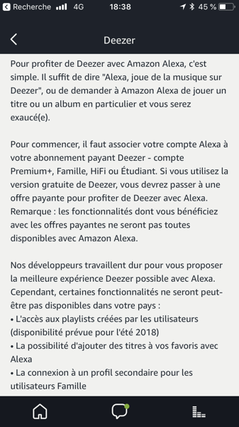 Les évolutions des commandes vocales de Deezer dans Alexa