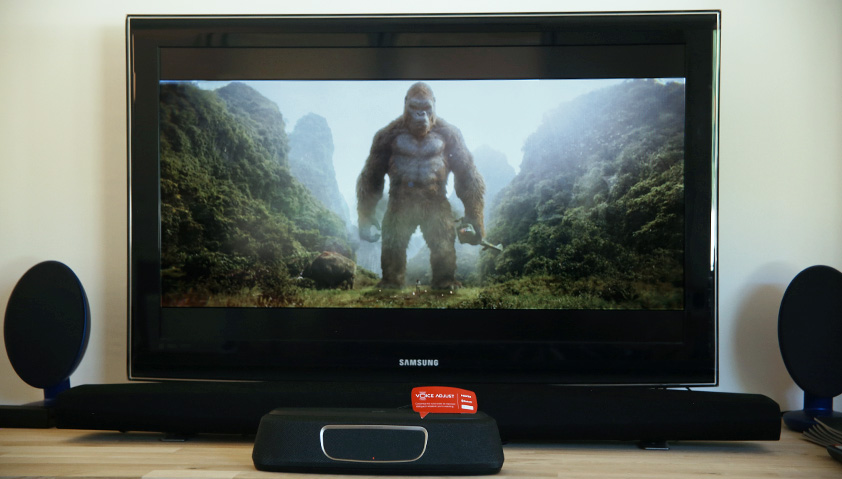Test du Polk MagniFi Mini sur le film King Kong : Skull Island