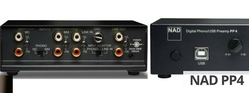 NAD PP4 : Copie de vos disques platine 33 et 45 Tours au format FLAC depuis votre PC ou votre MAC