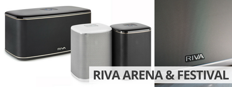 Riva Audio Festival et Arena - Enceintes WiFi, Bluetooth et AirPlay