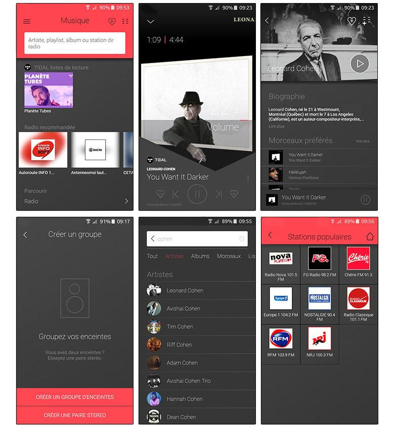 Dynaudio MUSIC : présentation de l'application pour Android et iOS