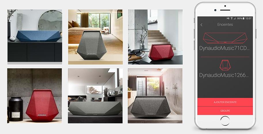 Dynaudio MUSIC : enceintes multiroom sans fil WiFi, Bluetooth et AirPlay pour toute la maison