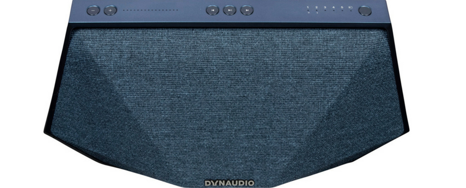 L'enceinte Dynaudio MUSIC 3 en finition bleu