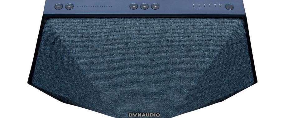 L'enceinte Dynaudio MUSIC 3 en finition bleu
