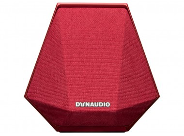 L'enceinte Dynaudio MUSIC 1 en finition rouge
