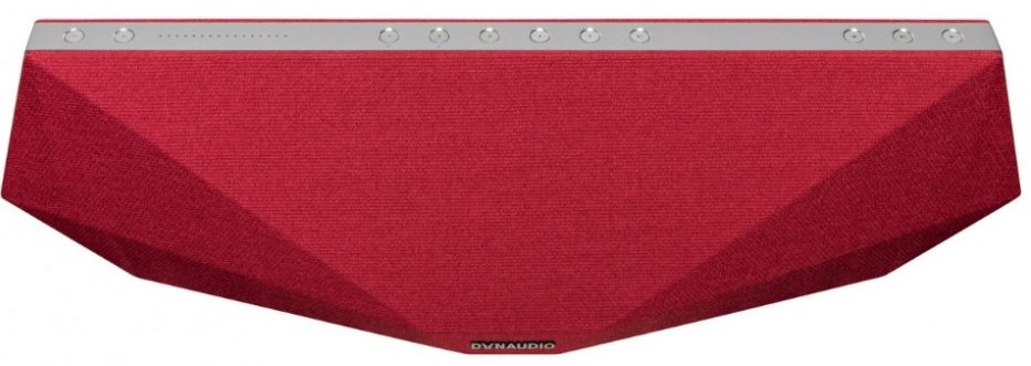 L'enceinte Dynaudio MUSIC 5 en finition rouge