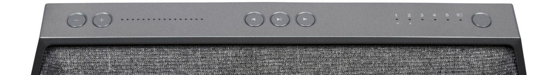 Les boutons de contrôle de lenceinte Dynaudio MUSIC 5.