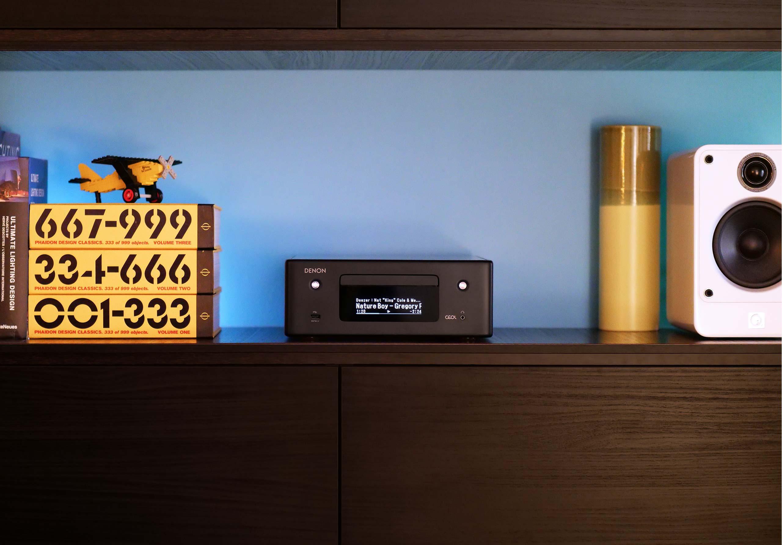 Test de l'ampli audio Denon CEOL RDC N10
