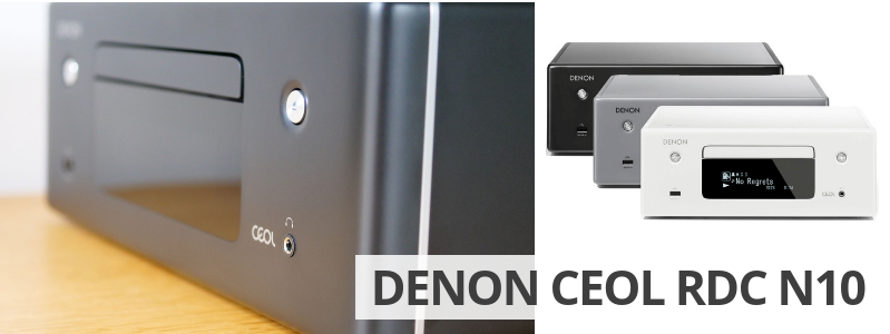Denon CEOL RDC N10 : test de l'ampli connecté HiFi avec Wifi, Bluetooth, Airplay2, lecteur CD et multiroom HEOS