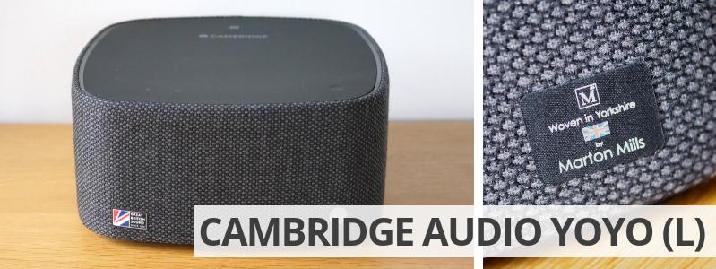 Voir l'enceinte Cambridge Audio YOYO (L) sur la boutique