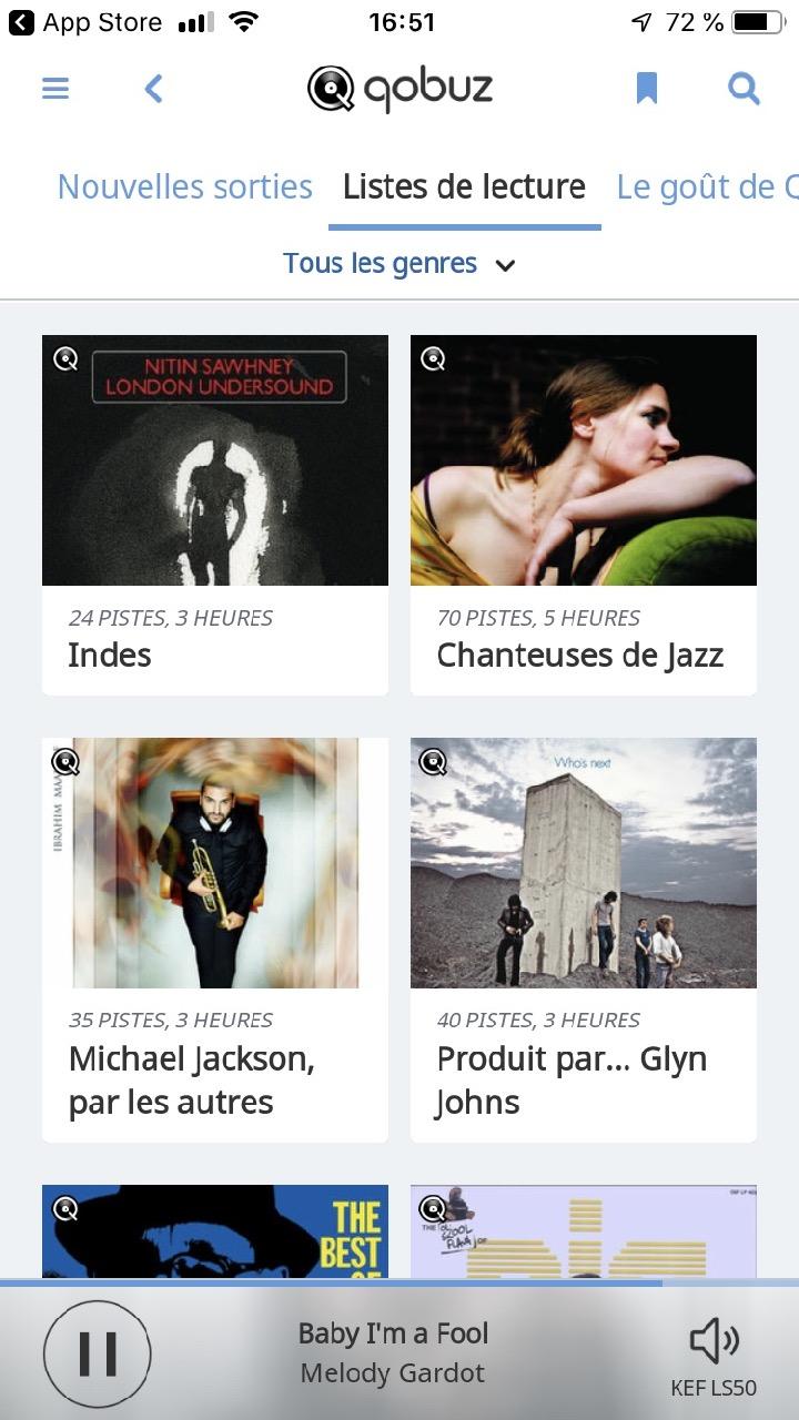 Le service d'abonnement musical Qobuz intégré à l'éco-système Roon