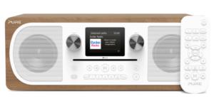 Pure Evoke C-F6 : Système HiFi stéréo WiFi et Bluetooth avec platine CD intégré
