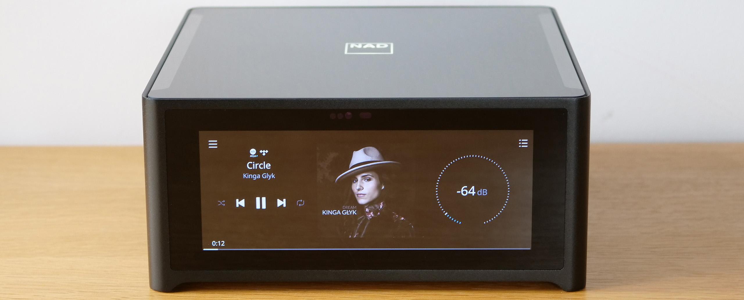 Test de l'ampli connecté NAD M10 avec fonction multiroom, wifi, bluetooth, airplay 2, bluos et roon