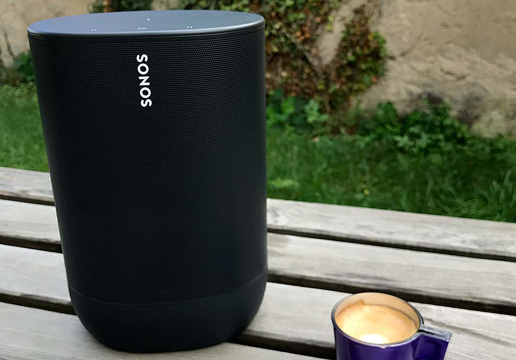 Test de l'enceinte Sonos Move : WiFi, AirPlay 2, Bluetooth, batterie, multiroom audio