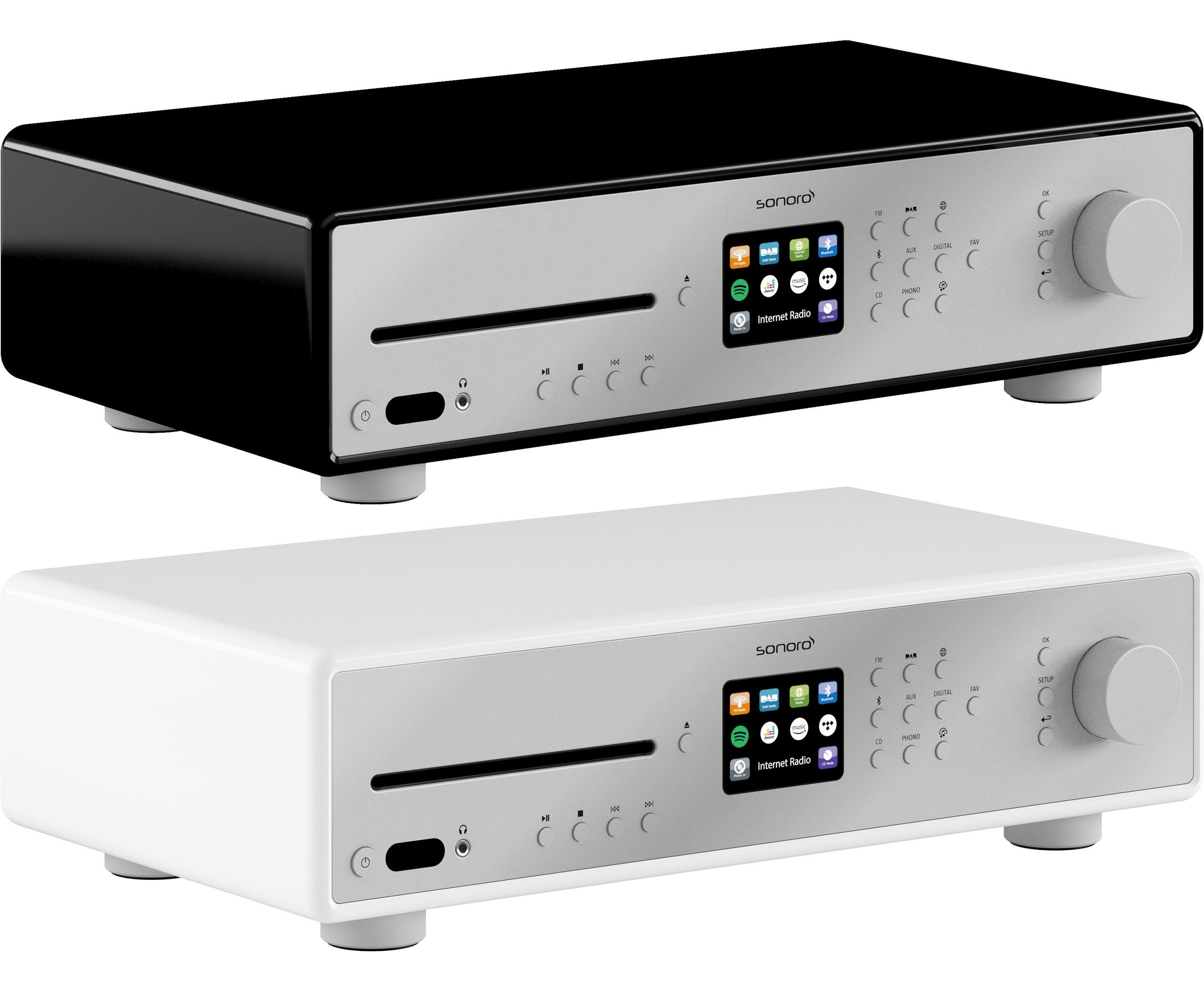 La Sonoro Maestro est disponible dans deux coloris brillants.