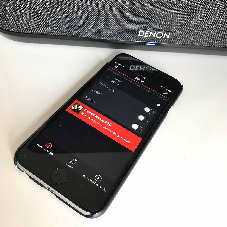 L'application HEOS pour les enceintes connectées Denon Home, les lecteurs et les amplis HiFi Denon et Marantz