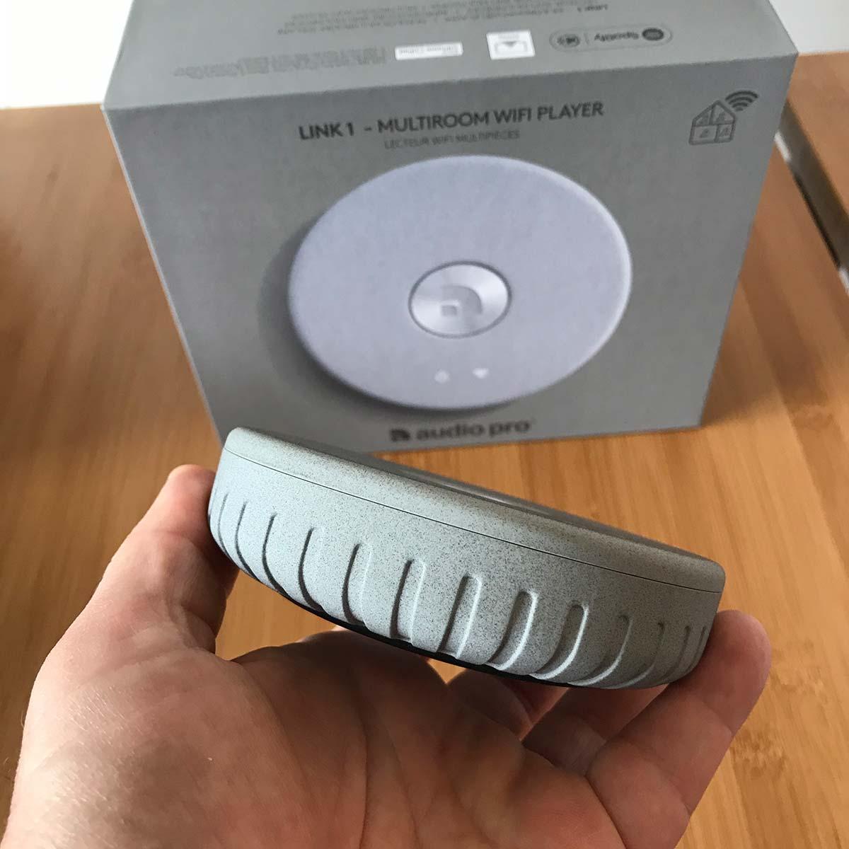 Test du lecteur réseau WiFi et AirPlay Audio Pro Link 1