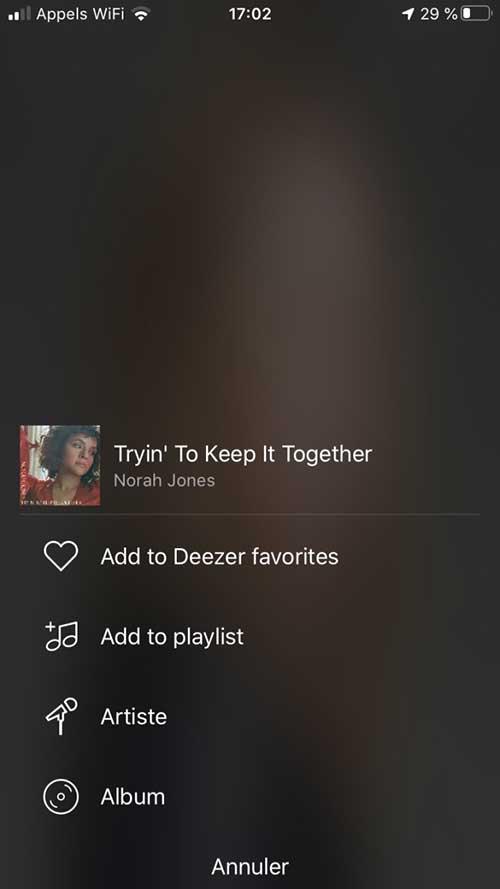 Tout l'abonnement Deezer : catalogue et fonction disponible pour une écoute sur la chaine HiFi familiale par le lecteur musical réseau Audio Pro Link 1