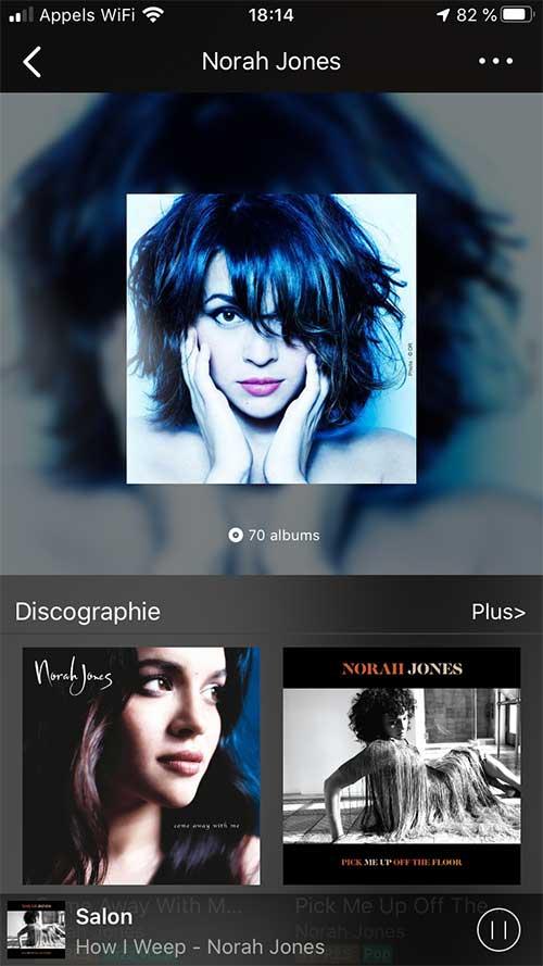 Ecoute de Qobuz en qualité CD ou HD par le lecteur réseau musical Audio Pro Link 1
