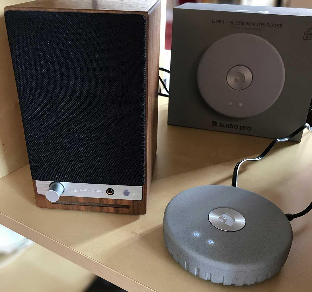 Quelle qualité pour l'écoute en WiFi et AirPlay sur la chaine HiFi avec l'Audio Pro Link 1