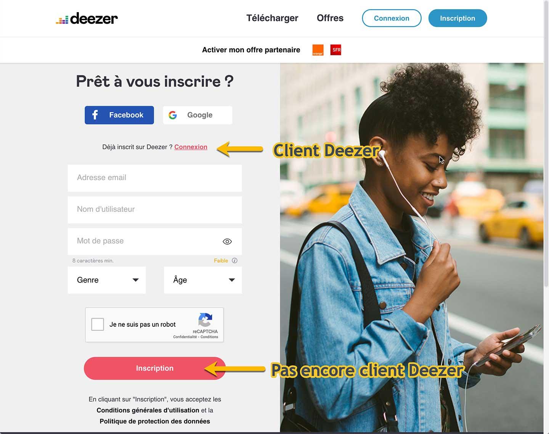 Comment souscrire l'abonnement Deezer HiFi avec la réduction de 50 % ?