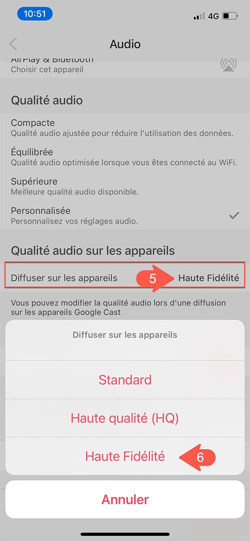 Paramétrer Deezer en qualité HiFi et format FLAC pour tous les appareils HiFi : enceintes sans fil et lecteurs réseau audio