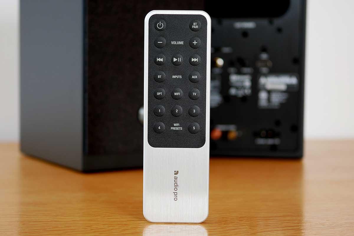 La télécommande est d'une qualité rarement vue dans ces gammes de tarif.