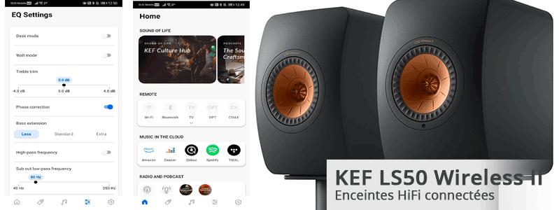Acheter, tester, écouter les KEF LS50 Wireless II à Lyon