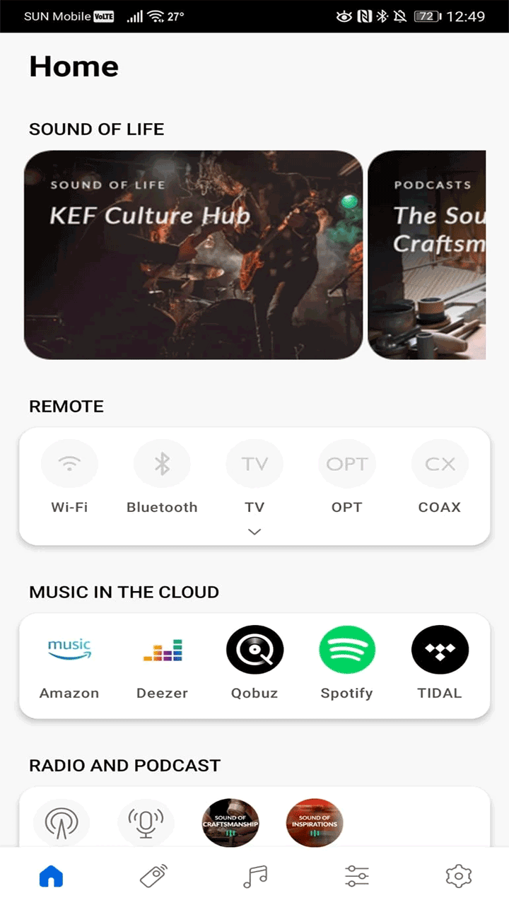 KEF KEF LS50 Wireless II : nouvelle application KEF Connect pour la lecture des fichiers audio et d'un abonnement de streaming musical