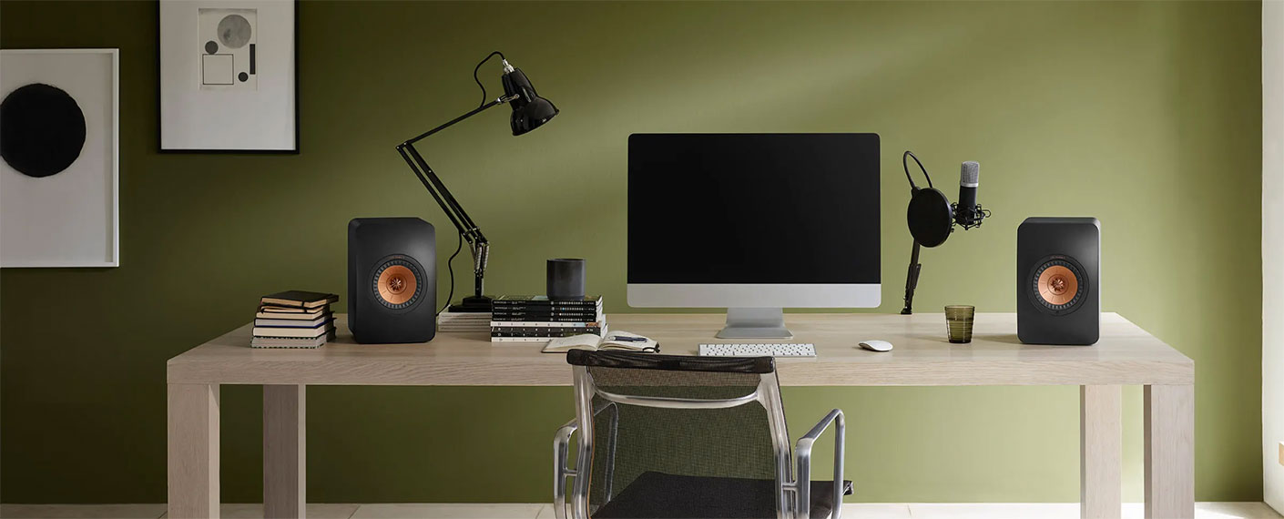 Comment brancher les KEF LS50 Wireless en version 2 avec un ordinateur ?