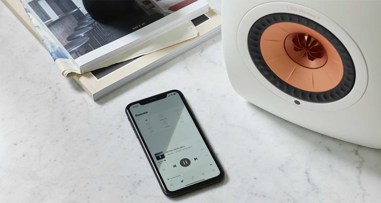 Les nouvelles KEF KEF LS50 Wireless II sont compatibles DLNA, AirPlay2, Chromecast, Roon et Bluetooth pour les sources musicales