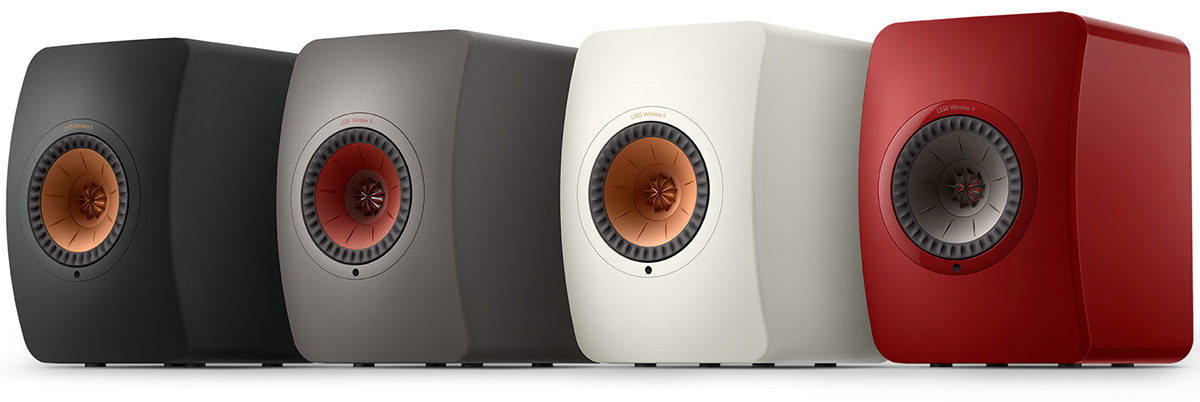 KEF LS50 Wireless II, disponibles en 4 coloris en finition mat